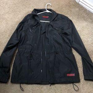 Reversible Berberry sweat jacket and rain coat